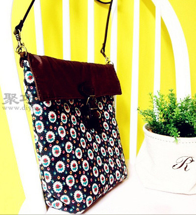 布藝手工包包制作教程 教你如何DIY小背包