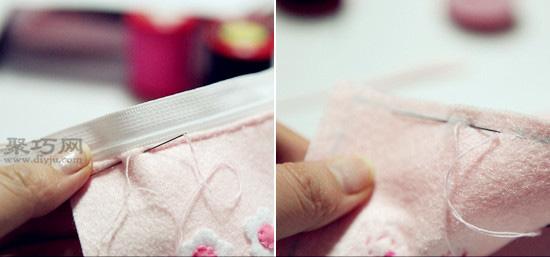 Hello Kitty卡通筆袋DIY教程