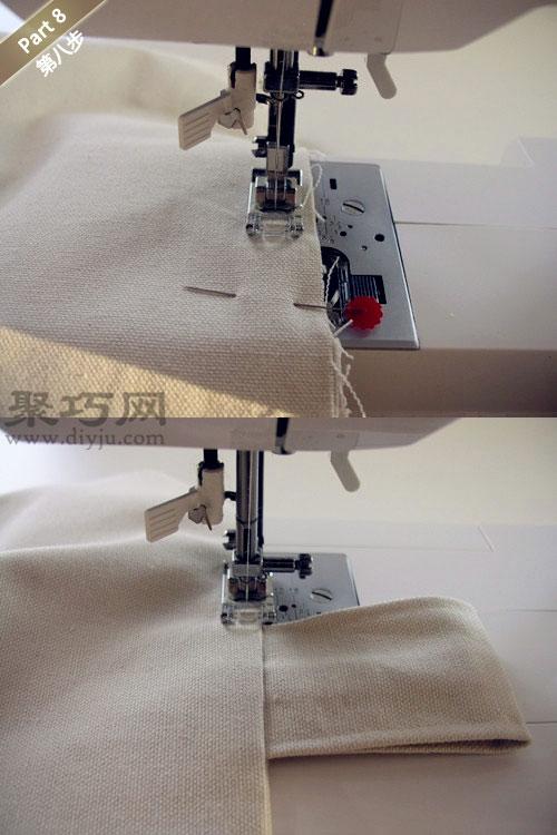 手工布藝環保手提袋教程 教你如何DIY布藝手提袋