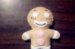 俏皮的布艺娃娃手工制作教程 超级简单