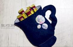 小物件收�{必�� 教你如何做茶杯型布�收�{袋
