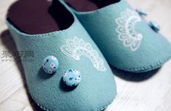 如何diy布拖鞋 手工制作布艺拖鞋教程