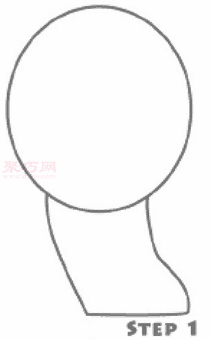 儿童简笔画狮子先生的画法 教你怎样画狮子先生简笔画