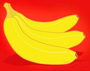 香蕉簡筆畫第5步