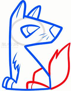 那就跟着本文的土狼简笔画步骤一步步的学习吧,你也可以