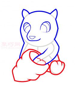 儿童简笔画小熊的画法 教你如何画小熊简笔画