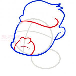 幼儿简笔画大猩猩的画法 教你如何画大猩猩简笔画