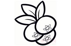 儿童简笔画小红莓的画法 教你如何画小红莓简笔画