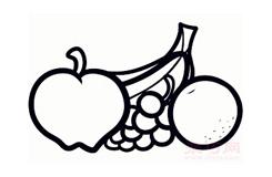 儿童简笔画水果的画法 教你怎样画水果简笔画