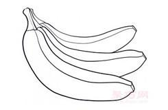 兒童簡筆畫香蕉的畫法 教你如何畫香蕉簡筆畫