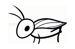 兒童簡筆畫蟋蟀的畫法 教你如何畫蟋蟀簡筆畫