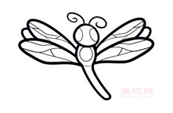 幼兒簡筆畫蜻蜓的畫法 教你如何畫蜻蜓簡筆畫