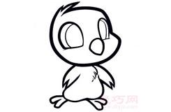 簡易畫小雞的步驟 畫小雞的簡筆畫圖片