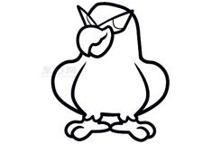 兒童簡筆畫鷹的畫法 教你如何畫鷹簡筆畫