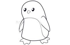 简笔画小企鹅的画法 教你如何画小企鹅简笔画