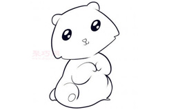簡筆畫熊崽的畫法 教你如何畫熊崽簡筆畫