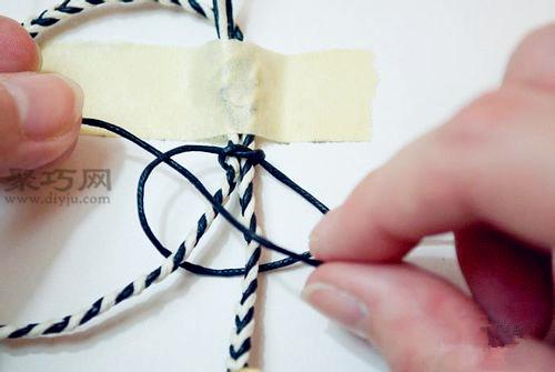 手工编手链的方法图解