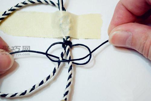 图解:编织手工绳的具体方法