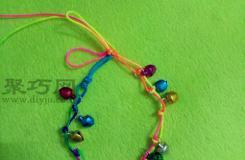 教你怎样编铃铛手链 一根线简单编手链方法