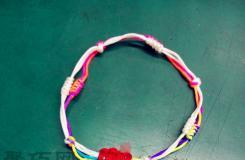 四線金剛結手鏈編法圖解 教你怎么編金剛結手鏈