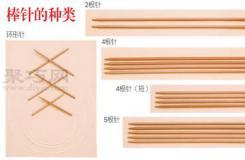 常用棒針針號對照表 教你如何根據毛線選棒針型號