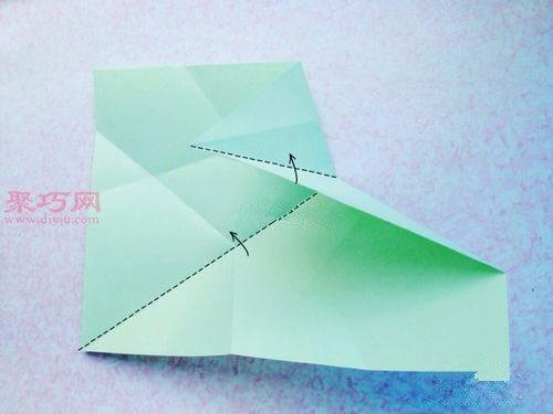 五角星收納盤的折法圖解