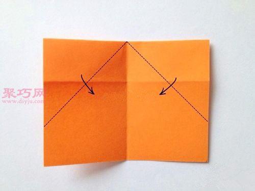 心形书签的折法图解教程
