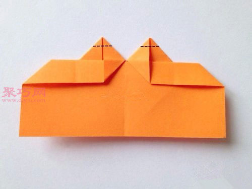 心形书签的折法图解教程 教你如何手工折纸心形书签