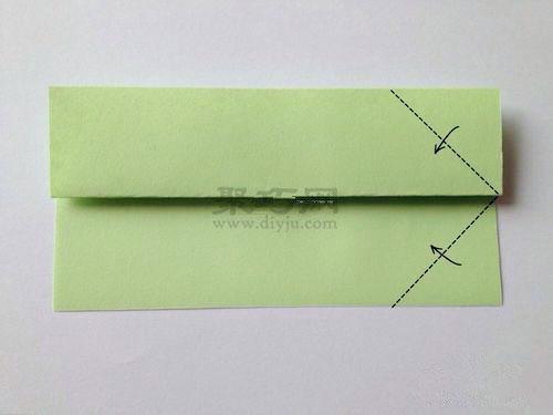如何手工折纸正方形盒子