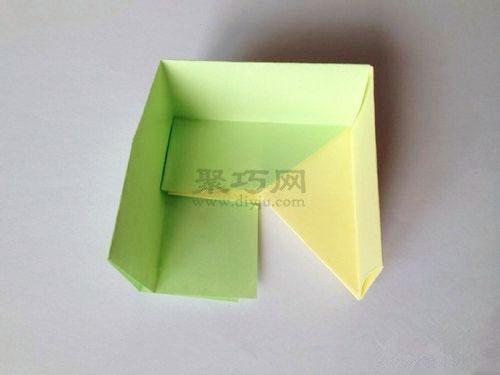 形盒子 正方形纸盒折法图解