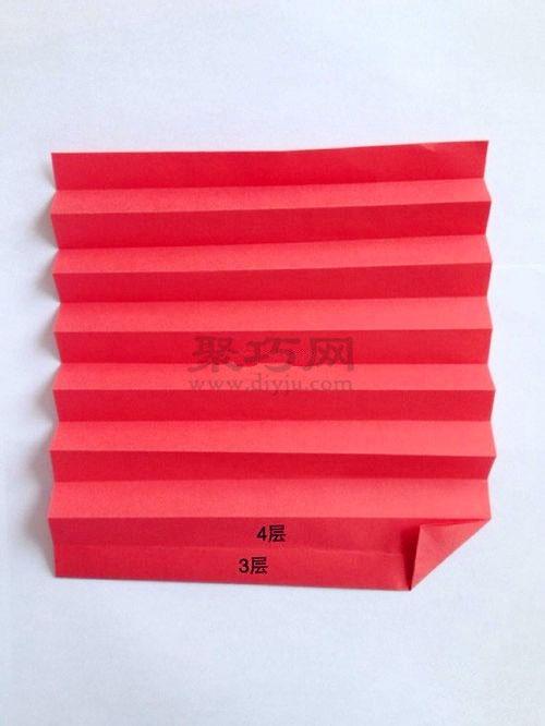 紙燈籠的折法圖解 教你如何手工折紙燈籠