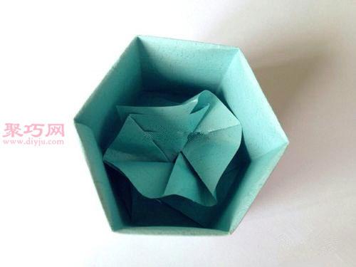 如何折长方体礼品盒 用纸折立体长方形盒子的折法图片