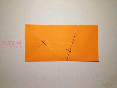 正五邊形折紙方法圖解教程