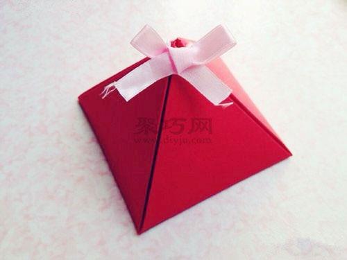 最简单手工折纸包装盒