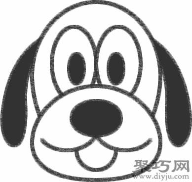 布魯托狗的畫法步驟