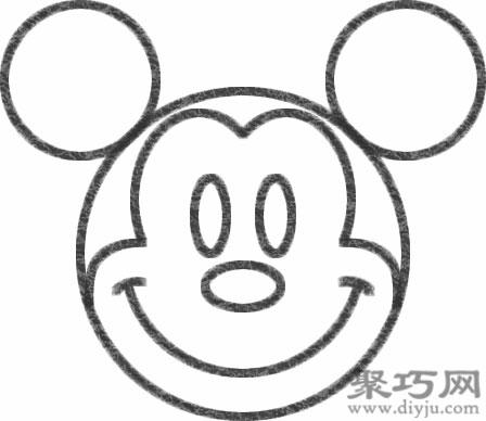 米老鼠的畫法步驟