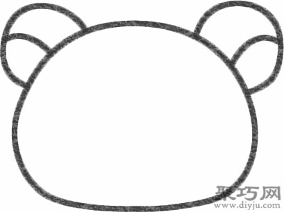 懶懶熊的畫法步驟