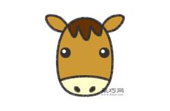 小驴子头像的画法步骤 怎么画小驴子头像简笔画