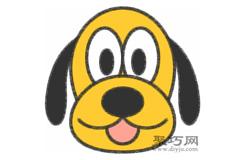 布魯托狗的畫法步驟 教你怎么畫布魯托狗簡筆畫