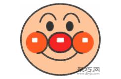 紅鼻子小丑的畫法步驟 怎么畫紅鼻子小丑簡筆畫