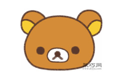 懶懶熊的畫法步驟 教你怎么畫懶懶熊簡筆畫