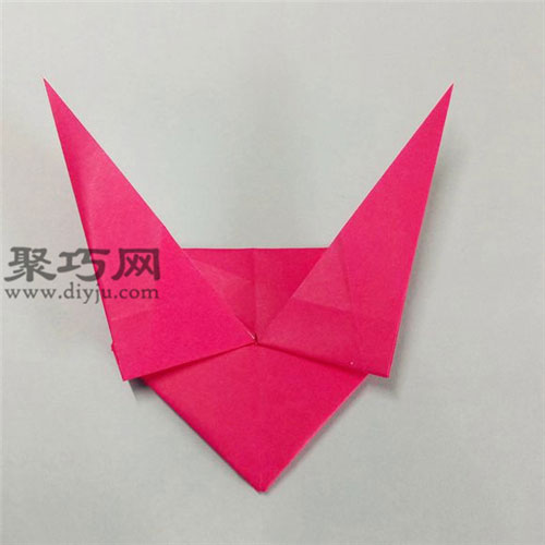 帶翅膀的心的折法圖解