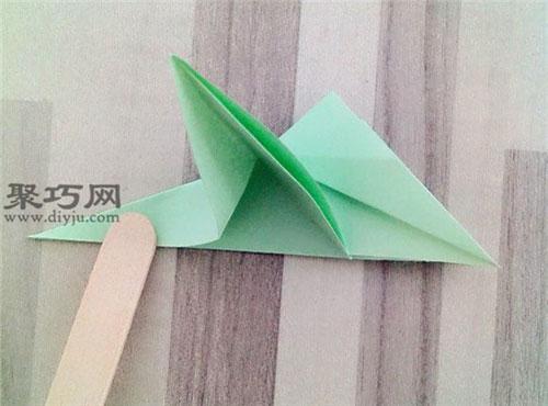 立体四叶草的折法_立体沙发的折法图解