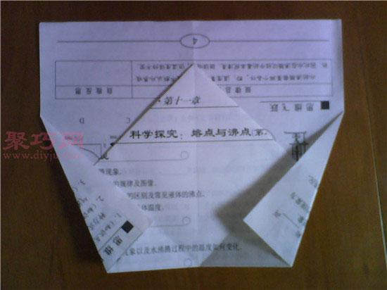 king空中之王纸飞机折法图解