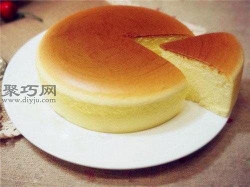 零失敗上色輕乳酪芝士蛋糕的做法 圖解6寸乳酪芝士蛋糕做法步驟