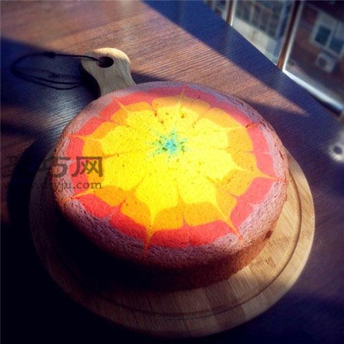 8寸彩虹戚风蛋糕做法大全 彩虹生日蛋糕如何做