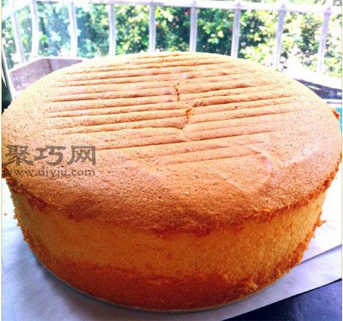 零失敗松軟不開裂戚風蛋糕的做法 八寸戚風蛋糕的原料配比