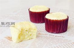 如何做榴莲夹心戚风杯子蛋糕 怎么做榴莲戚风蛋糕