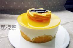 图解六寸鲜橙慕斯蛋糕做法步骤