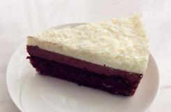 八寸巧克力乳酪慕斯蛋糕做法 圖解三層生日蛋糕做法